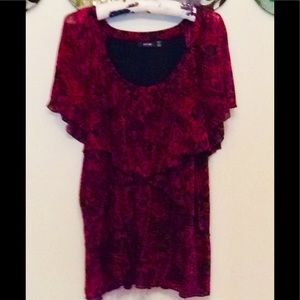 Apt.9 🌹 Special occasion 🌹butterfly layer blouse